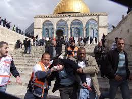 اقتحام المسجد الأقصى تحت رعاية قائد شرطة الاحتلال