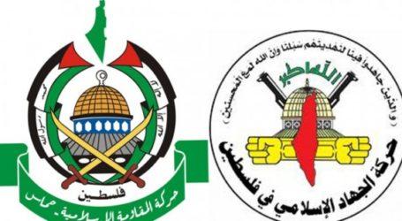 حركتا الجهاد وحماس تؤكدان على التمسك بالثوابت الوطنية و في مقدمتها المقاومة