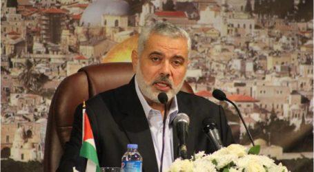 هنية: أربعة مسارات ضرورية لدعم انتفاضة القدس