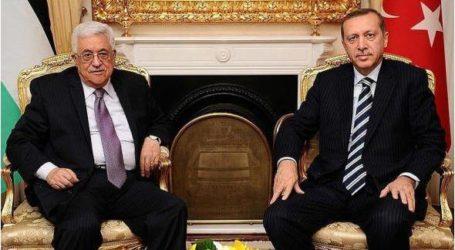 أردوغان لعباس: اتّفاق أنقرة – تل أبيب في صالح غزة