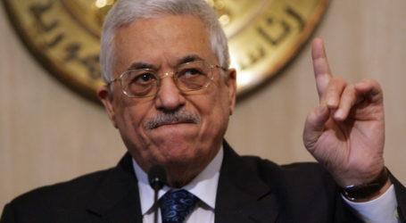 عباس: نقل السفارة الأمريكية للقدس سيقضي على عملية التسوية