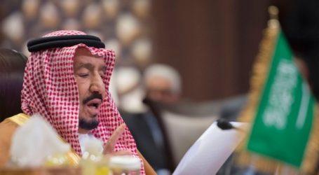 الملك سلمان يشدد على أهمية السعي لإيجاد حل القضية الفلسطينية