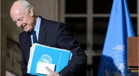 دي ميستورا يدعو لخطوات عاجلة لانقاذ وقف إطلاق النار في سوريا