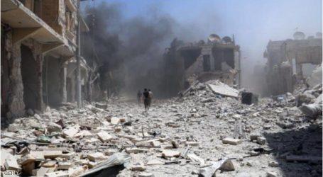 مقتل 15 مدنيا في قصف جوي على حلب وإدلب شمالي سوريا