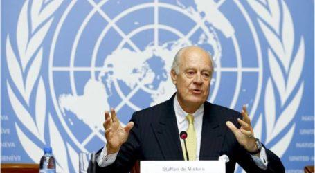 دي ميستورا: اتفاق أستانة أسهم في خفض العنف بسوريا