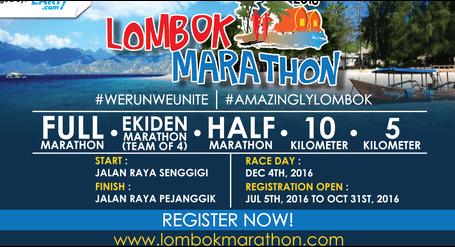 أكثر من خمسة آلاف من المتسابقين من 15 دولة سينضمون إلى ماراثون لومبوك