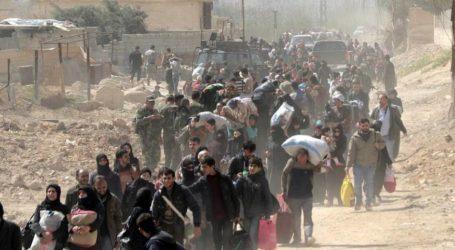 آلاف المدنيين يخرجون من الغوطة الشرقية منذ أمس اليوم