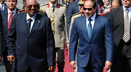 البشير من القاهرة: إرادة سياسية قوية للتعاون مع مصر لحل أية إشكالية