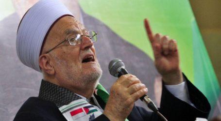 الشيخ عكرمة صبري يدعو للمسيرات ضد دعوات إفراغ الأقصى خلال العيد اليهودي