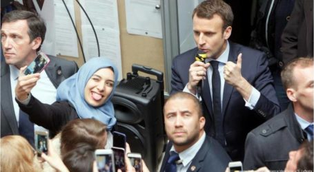 الرئيس الفرنسي: أحترم كل امرأة ترتدي الحجاب