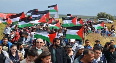مسيرة العودة.. إصابة 8 فلسطينيين برصاص الاحتلال