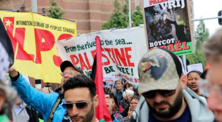 متظاهرون في أمستردام: إسرائيل إرهابية ونتنياهو قاتل