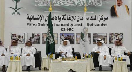 مركز الملك سلمان للإغاثة والاعمال الإنسانية يطلق حملة مساعدات غذائية للعائلات السورية واللبنانية