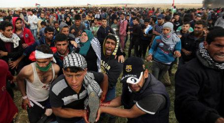 إحصائية: 112 شهيدا في غزة منذ 30 آذار الماضي