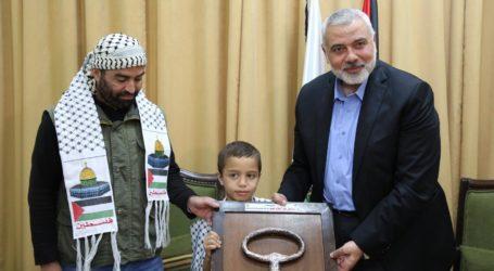 هنية: مسيرة العودة فرضت قضية حصار غزة بقوة أمام العالم