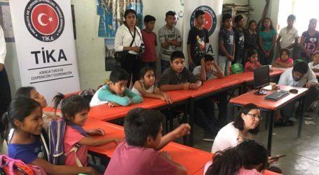 تيكا:التركية تنشئ مكتبات إلكترونية لطلبة مناطق ريفية في المكسيك