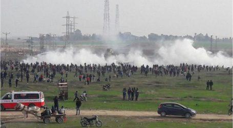 إصابة أكثر من 200 فلسطيني برصاص قوات الاحتلال في غزة