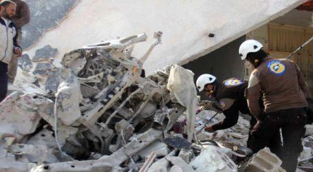 مقتل 17 مدنيا في قصف لقوات النظام السوري على إدلب شمل مستشفى للأطفال