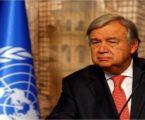 غوتيريش: استمرار الأوضاع الحالية في غزة ينذر بنشوب حرب