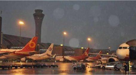 إلغاء 96 رحلة جوية وتحويل 43 بسبب سوء الطقس غرب الصين
