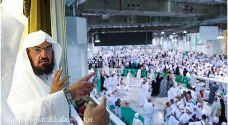 الشيخ السديس يعلن عن موافقة خادم الحرمين ببدء مشروع تظليل ساحات الحرم المكي