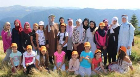 افتتاح اكبر مخيم صيفي لاطفال المسلمين في روسيا