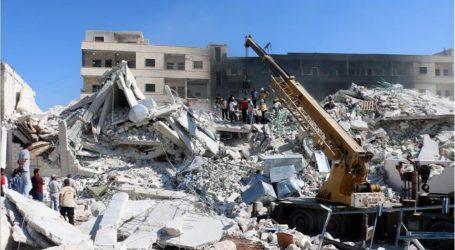 """مقتل 32 وإصابة 45 مدنيا جراء تفجير في """"إدلب"""" السورية"""