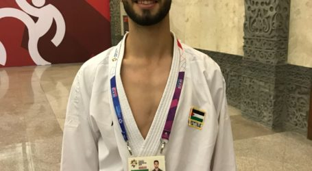 حوار مباشر مع معتز دراغمة لاعب كاراتيه من فلسطين