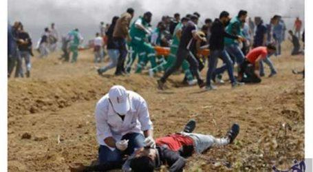 استشهاد فلسطينيين اثنين بنيران جنود الاحتلال في قطاع غزة أحدهما مسعف