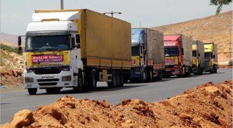 توزيع مساعدات إنسانية من متبرعين بجنوب إفريقيا لتركمان سوريا