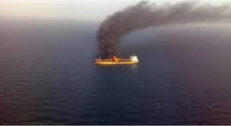 إندلاع حريق بسفينة يخلف 10 قتلى اندونيسيا