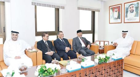 أبوظبي وإندونيسيا تبحثان تعزيز العلاقات الاقتصادية والتجارية