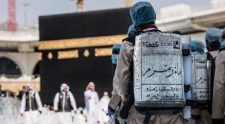 تدشين خدمة زمزم الإلكترونية بالمسجد النبوي
