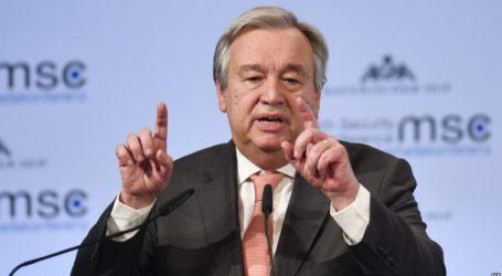 غوتيريش : حل الدولتين بعيد المنال