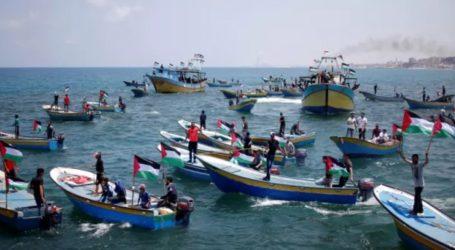 وزارة الصحة : شهيد و50 إصابة بقمع الاحتلال المسير البحري