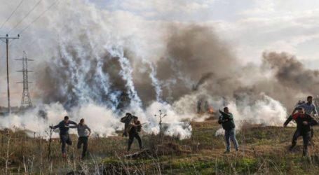 9 حرائق بغلاف غزة بفعل بالونات حارقة