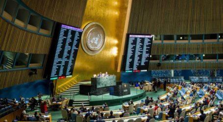 الجمعية العامة للأمم المتحدة تصوّت على انتخاب فلسطين رئيسة لمجموعة 77 والصين
