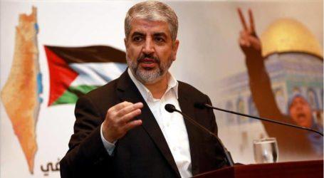 مشعل يدعو العالم الإسلامي للتوازن بين الهم القطري وقضية فلسطين