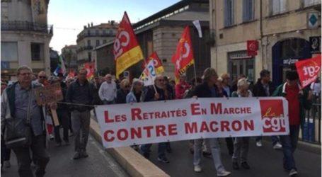 تظاهرات فرنسية احتجاجا على نموذج ماكرون الاجتماعي