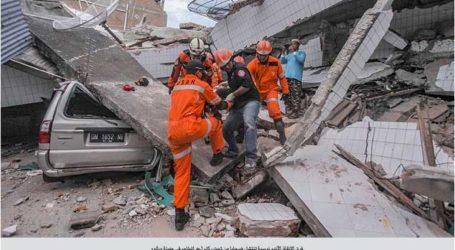 تركيا أول دولة تبادر لمساعدة إندونيسيا في إزالة آثار الزلزال
