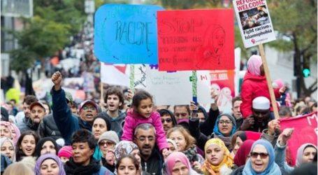 آلاف المتظاهرين ينددون بالعنصرية ضد المسلمين في كندا