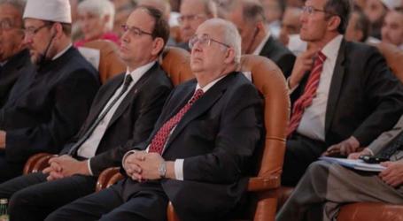 رئيس وزراء بلجيكا السابق يدعو من الازهر لنبذ العنف