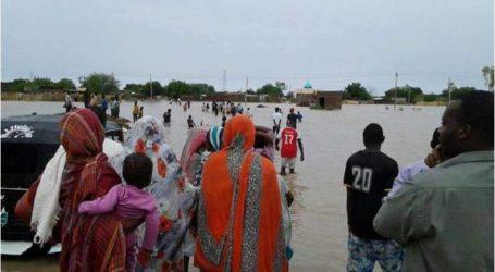 أكثر من 195 ألف سوداني تضرروا من الأمطار والفيضانات