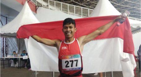 اللاعب سابتو يفوز بالميدالية الذهبية الثالثة لإندونيسيا