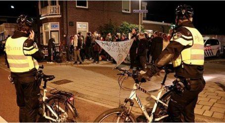 مظاهرة مناهضة للإسلام أمام مسجد في هولندا