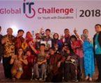 إندونيسيا تظهر كبطل في تحدي تكنولوجيا المعلومات العالمية  للشباب ذوي الإعاقة