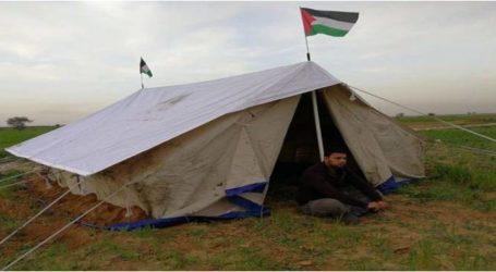 """الجيش الإسرائيلي يصادر خيمة """"دراسية"""" في الأغوار"""