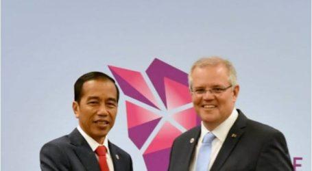 محادثات ثنائية  بين الرئيس جوكووي ورئيس الوزراء الأسترالي سكوت موريسون