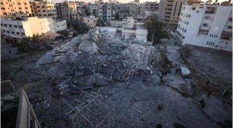 دمار كبير تخلّفه الغارات الإسرائيلية على قطاع غزة