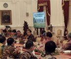 الرئيس جوكو ويدودو يدعو رؤساء المناطق لتشجيع التنمية الاقتصادية الإقليمية
